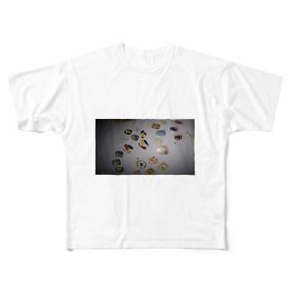 ネイルアート Full graphic T-shirts