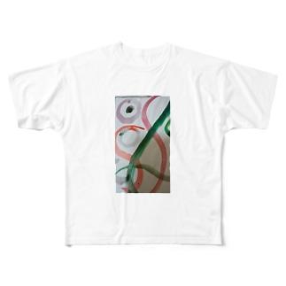 緑の反抗 Full graphic T-shirts