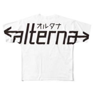 alterna フルグラフィックTシャツ