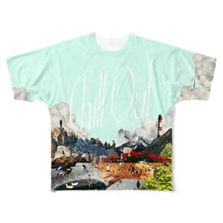 チルアウトver.2.0 フルグラフィックTシャツ