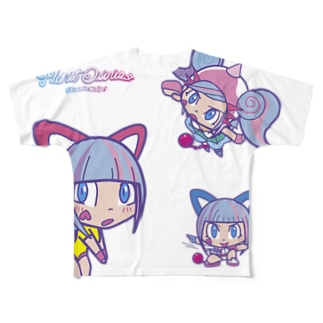オシリたゃん Full graphic T-shirts