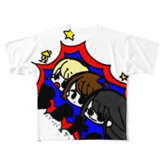 bbygTしゃつ フルグラフィックTシャツ