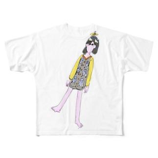 怒鳴られる日々 Full graphic T-shirts