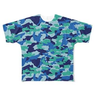 sentofuku3 Full graphic T-shirts