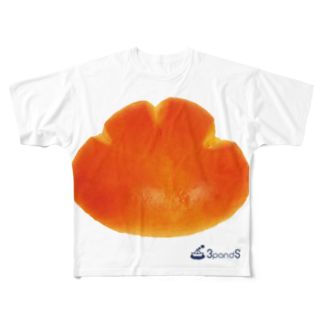 3pondSのクリームパン♪ Full graphic T-shirts