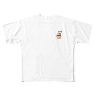 闇鍋メンバーズ Full graphic T-shirts