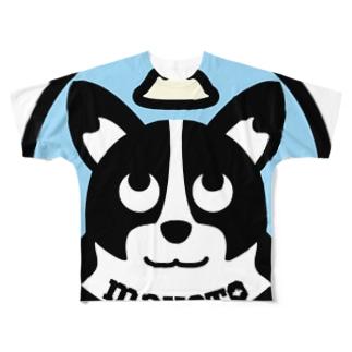 パ紋No.2829 makoto Full graphic T-shirts