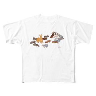 いたずらしたのは誰? Full graphic T-shirts