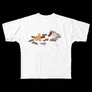 SCHINAKO'Sのいたずらしたのは誰? Full graphic T-shirts