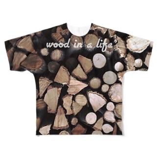 気のある生活 Full graphic T-shirts