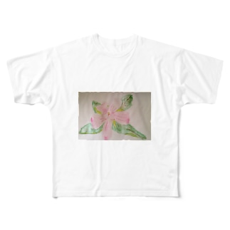 ヤマツツジ Full graphic T-shirts
