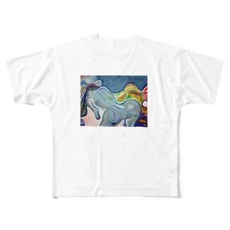 情熱の冷たさ Full graphic T-shirts