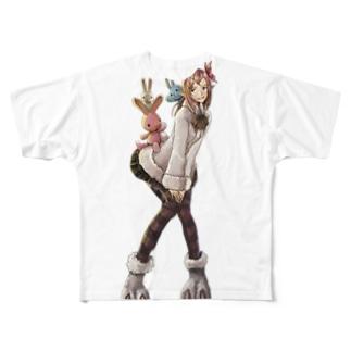 ジュジュさん ~バニースタイル~ Full graphic T-shirts