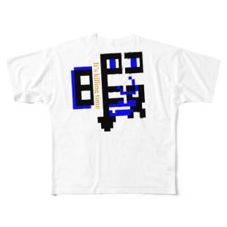 暇FACE君 フルグラフィックTシャツ