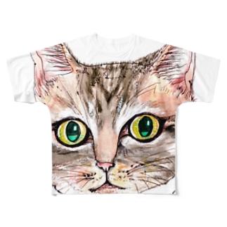 tommy フルグラフィックTシャツ