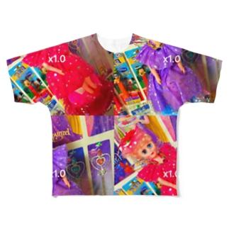 dolls. フルグラフィックTシャツ