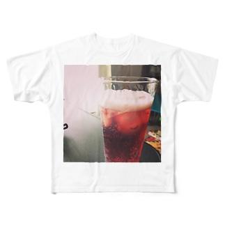 休日のファンタ Full graphic T-shirts