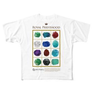 エポデ Full graphic T-shirts