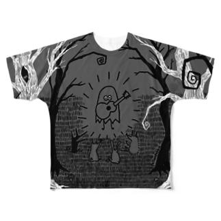 森のコンサート Full graphic T-shirts