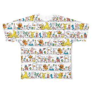 ポトフスキー Full graphic T-shirts