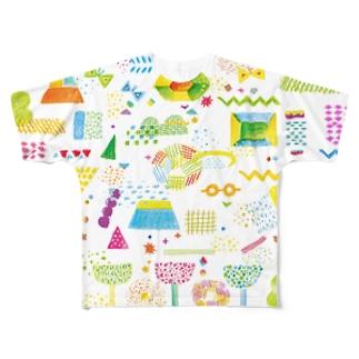 child park2 フルグラフィックTシャツ