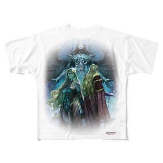 Wizardry Online ~昏き揺らぎの地~ Full graphic T-shirts