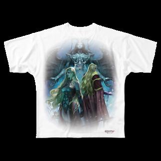 Wizardry Online 公式グッズのWizardry Online ~昏き揺らぎの地~フルグラフィックTシャツ