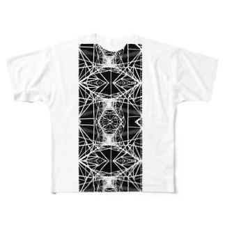 鉄塔NEGA005 Full graphic T-shirts