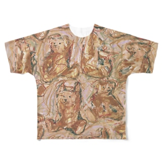 こどもごころのぽぉけっと。 フルグラフィックTシャツ