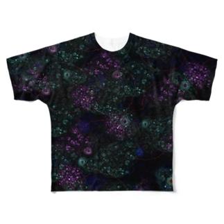 Psychedelia-サイケデリア- フルグラフィックTシャツ