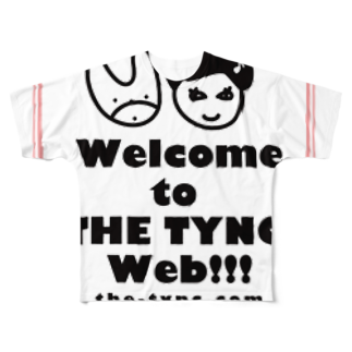 Kekyo & Yoritan RECORDSのTHE TYNC [Coming Soon ! - ROSE]  Full graphic T-shirts