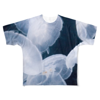 海月とただよふ Full graphic T-shirts