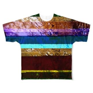 Glitch(Maidenhair Tree) フルグラフィックTシャツ