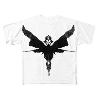 ロールシャッハの悪魔 Full graphic T-shirts