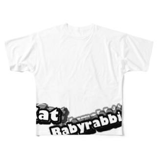 ROCK フルグラフィックTシャツ
