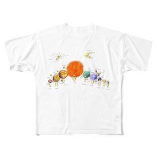 Sol フルグラフィックTシャツ