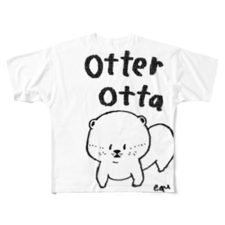 otter! Full graphic T-shirts