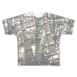 変電所No.1 Full graphic T-shirts
