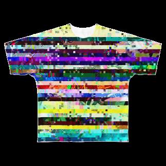 新しいアイコン フルグラフィックTシャツ