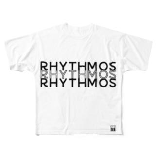 rhythmosT ( フルT ) フルグラフィックTシャツ
