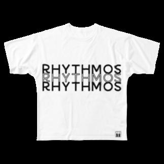 リズムパレットのrhythmosT ( フルT ) Full graphic T-shirts