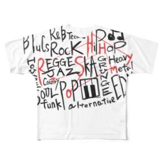 musicmix T ( フルT ) フルグラフィックTシャツ