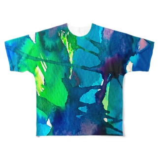 blue_psychic_darling Full graphic T-shirts