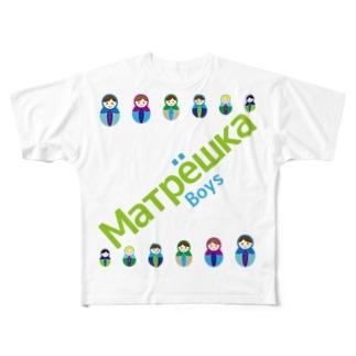 Matryoshkaboys Full graphic T-shirts
