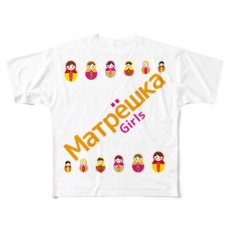 Matryoshkagirls Full graphic T-shirts