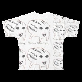 ブティックおばば銀座の干支(亥年)フルグラフィックTシャツ