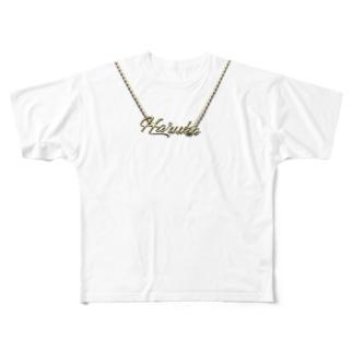 Haruka Full graphic T-shirts