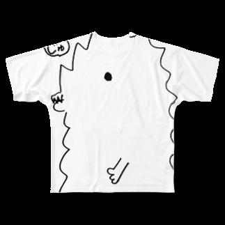 宮澤寿梨のじゅ印良品の【ニコ生会員割引】Tシャツ 半じゅジラ フルグラフィックTシャツ