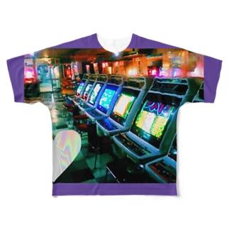 gamecenter@@ Full graphic T-shirts