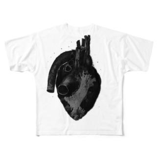 心臓T Full graphic T-shirts